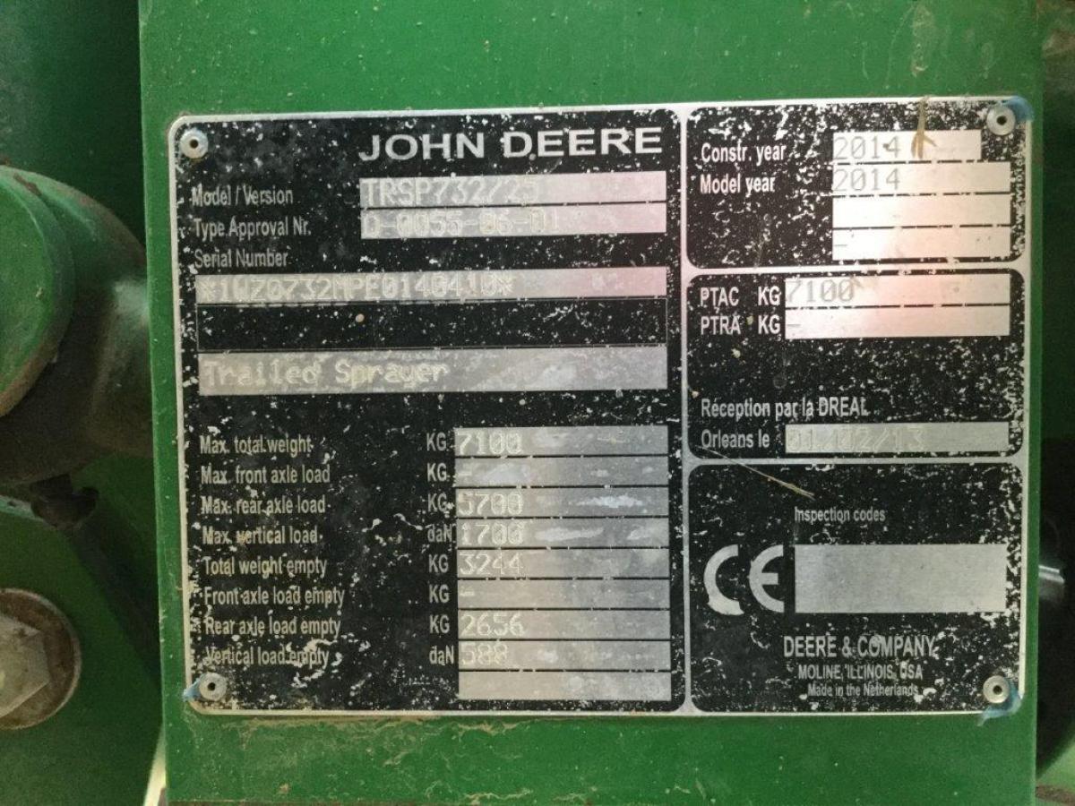 John-Deere 732i de 2014