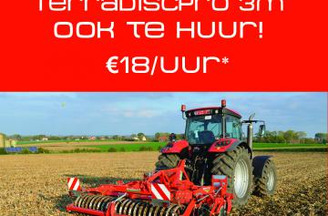Compact disc harrows: for rent